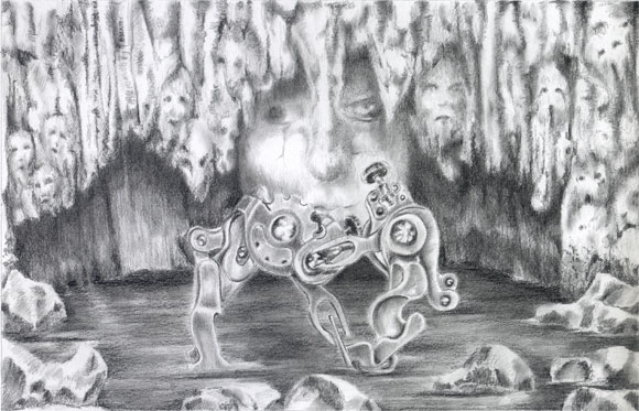 surrealist drawing surrealism art
